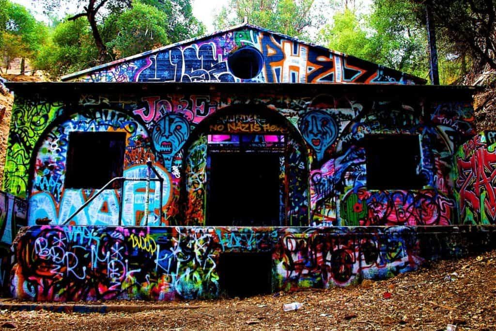 abandoned bunker santa monica mountains los angeles