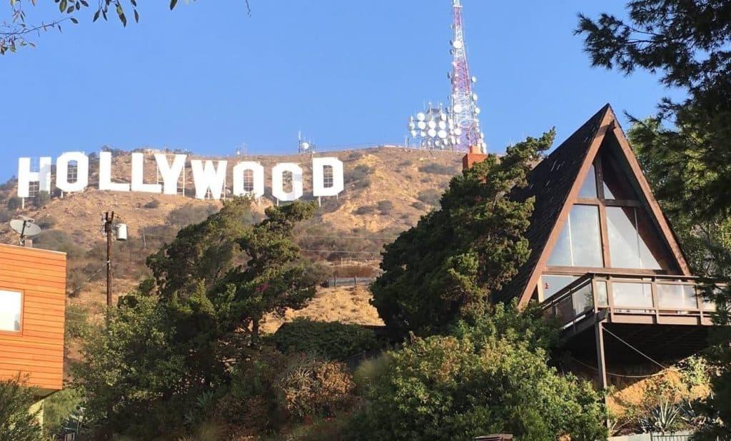 hollywood sign chalet los angeles rental