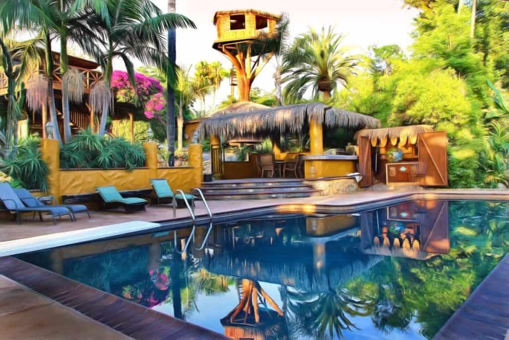 tropical oasis san diego rental