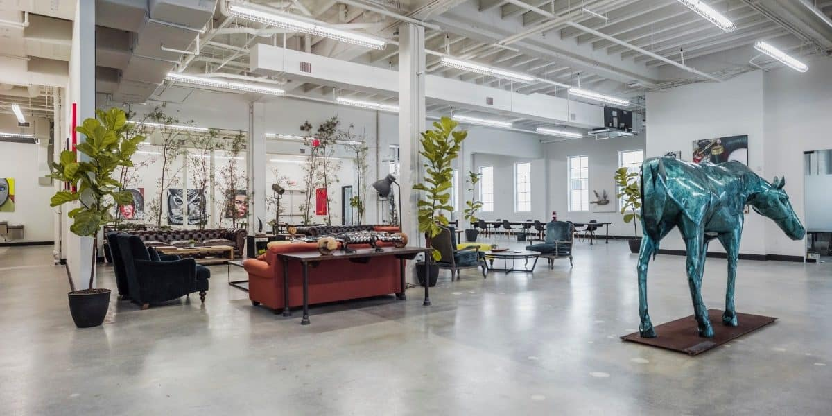 remodeled industrial warehouse miami rental