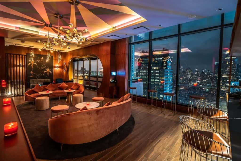 nyc penthouse lounge new york city rental