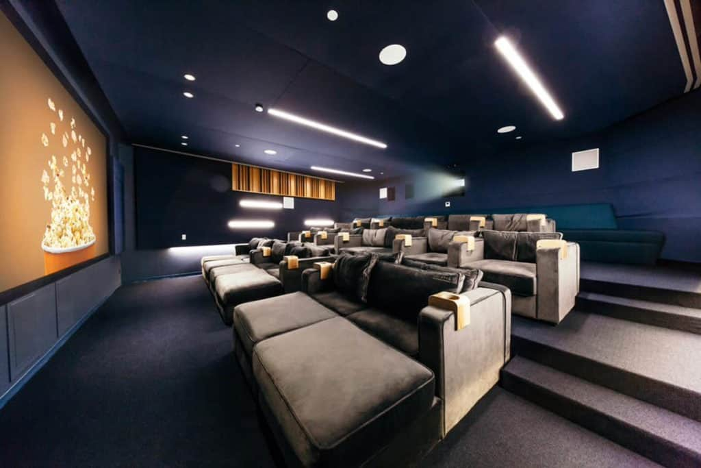 30 person private screening meeting room los angeles rental