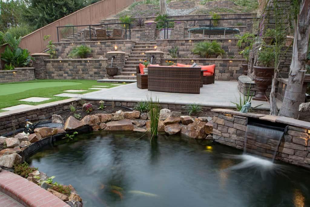 C- Lounge - A custom suburban outdoor living space chula vista san diego rental