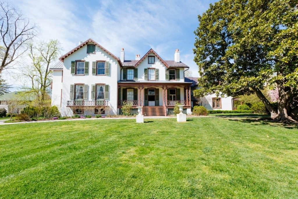 Impressive Mansion Steeped in History washington dc rental