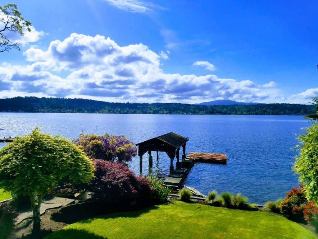 Lake Sammamish Waterfront Home seattle rental