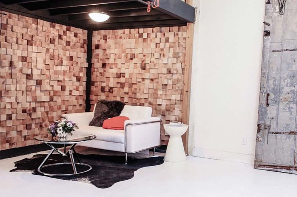 Modern Boutique Photo Studio located in Germantown nashville rental