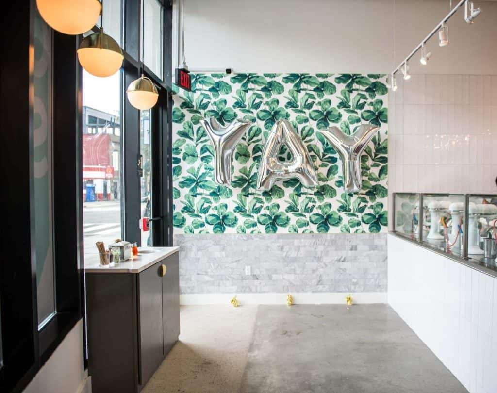 Modern Dessert Parlor - Private Event Space washington dc rental