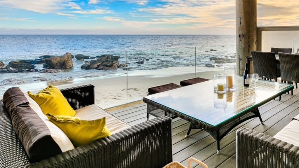 Oceanfront Modern Beach Villa los angeles rental