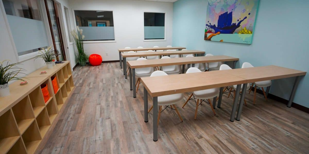 How much does it cost to rent a training room