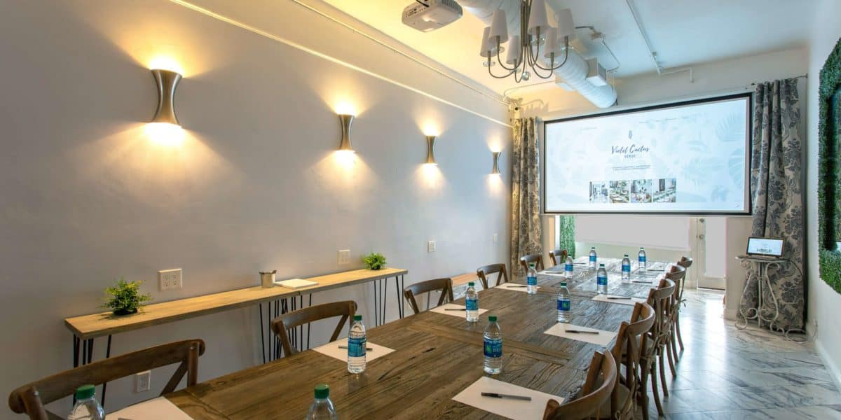 how much does it cost to rent a presentation room