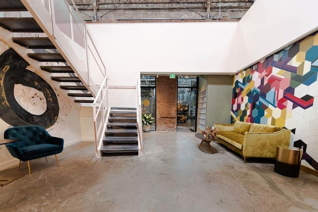 RiNo Event Space with High End Furnishings denver rental