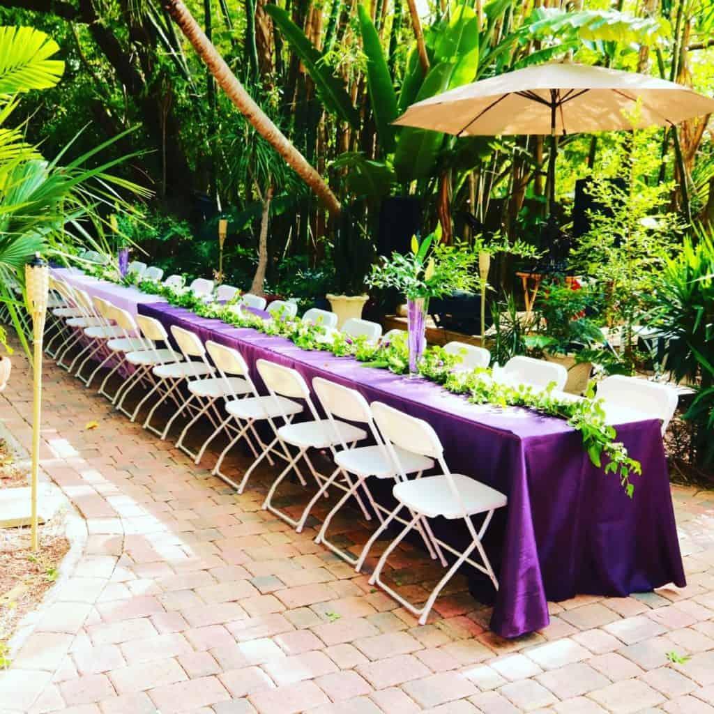 Rustic Tropical Oasis Event Venue miami rental