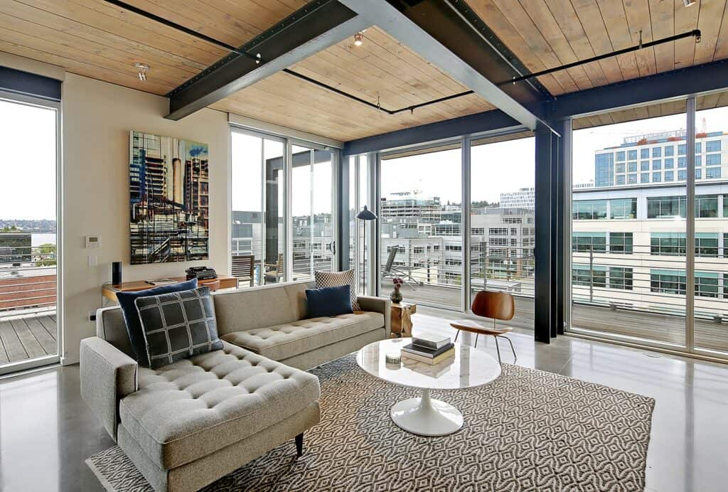 South Lake Union Penthouse with Lake Union View seattle rental
