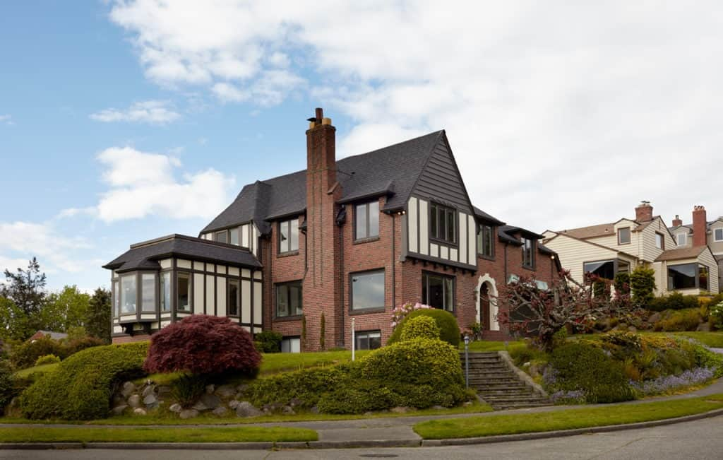 Stunning Grand Storybook Tudor House with Water View seattle rental