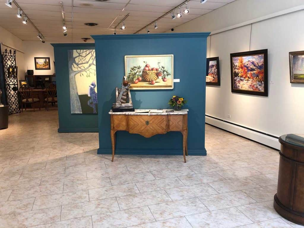 Two story, well lit, contemporary fine arts gallery denver rental