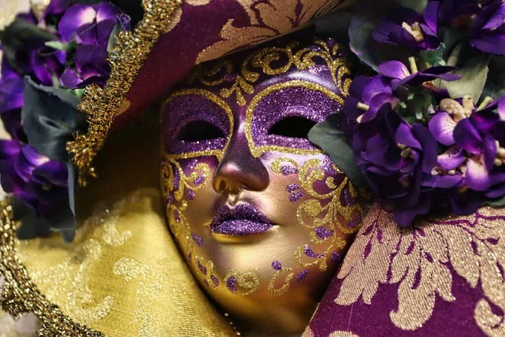 venetian mask costume