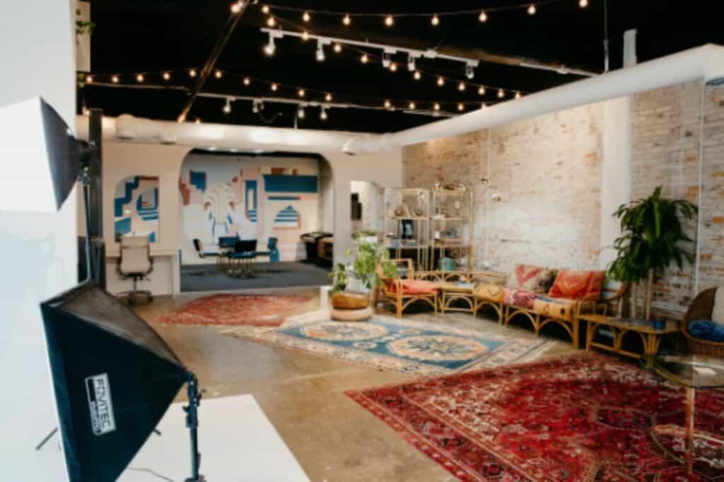 creative boho studio in atlanta