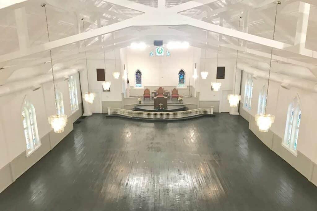 traditional historic victorian church