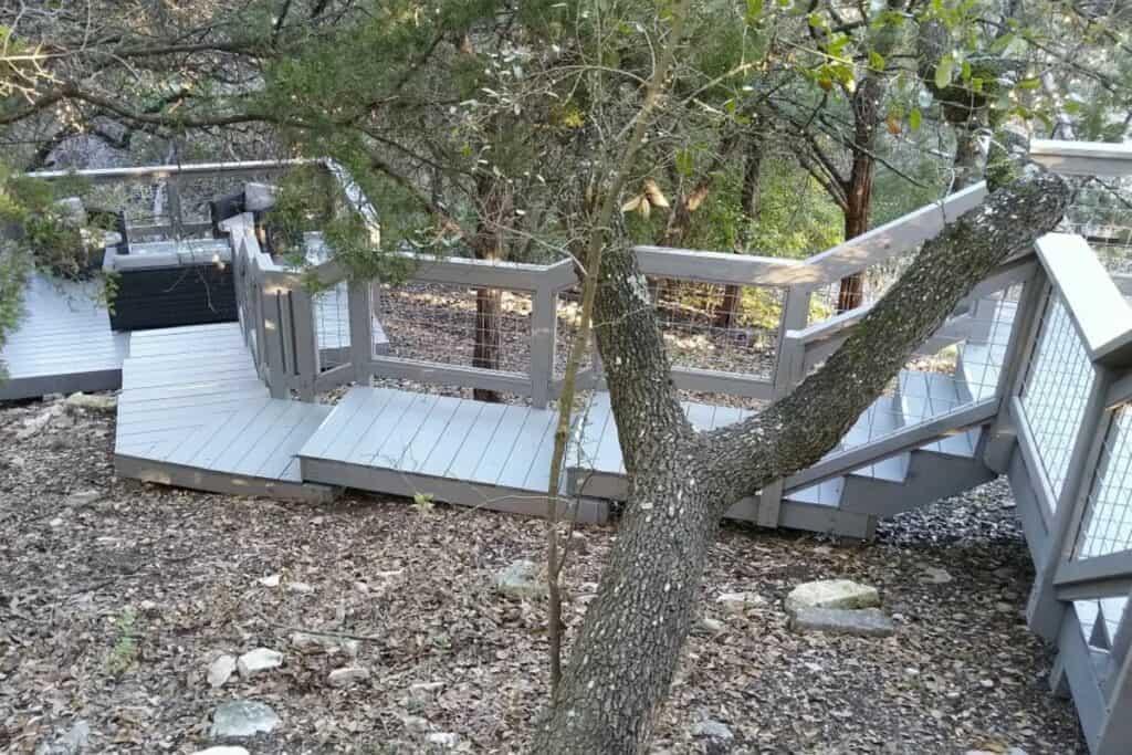 charming outdoor decks in austin