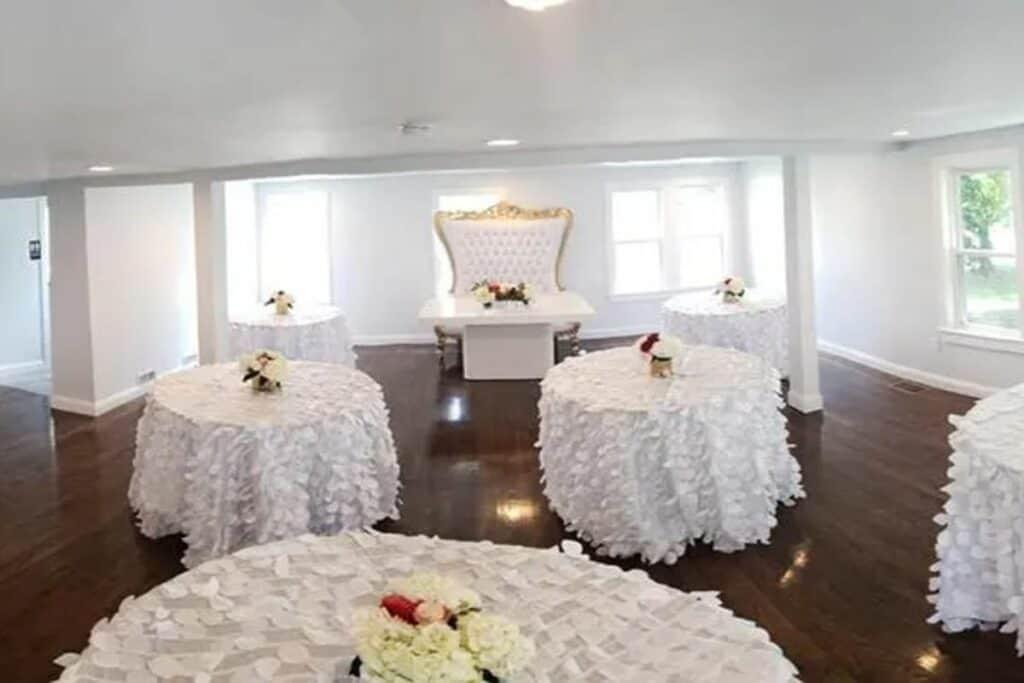 elegant, traditional wedding venue