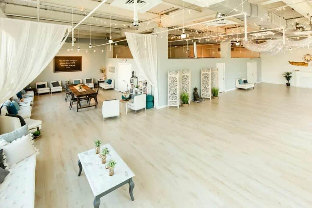 zen style industrial loft