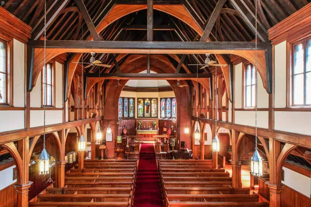 historic church in boston