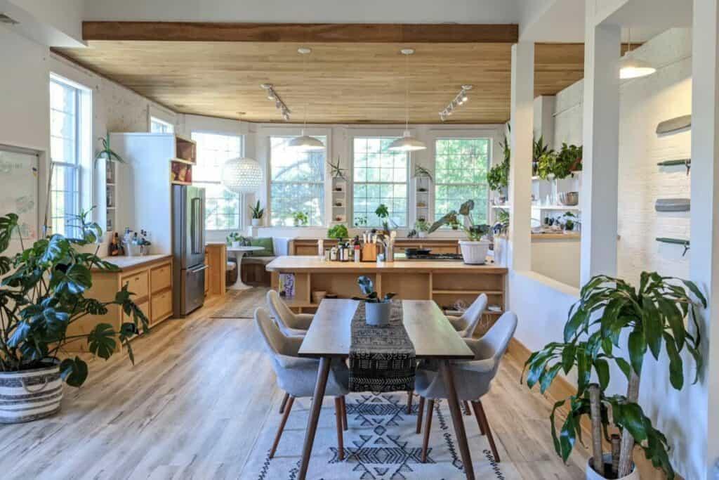 bright airy modern loft space