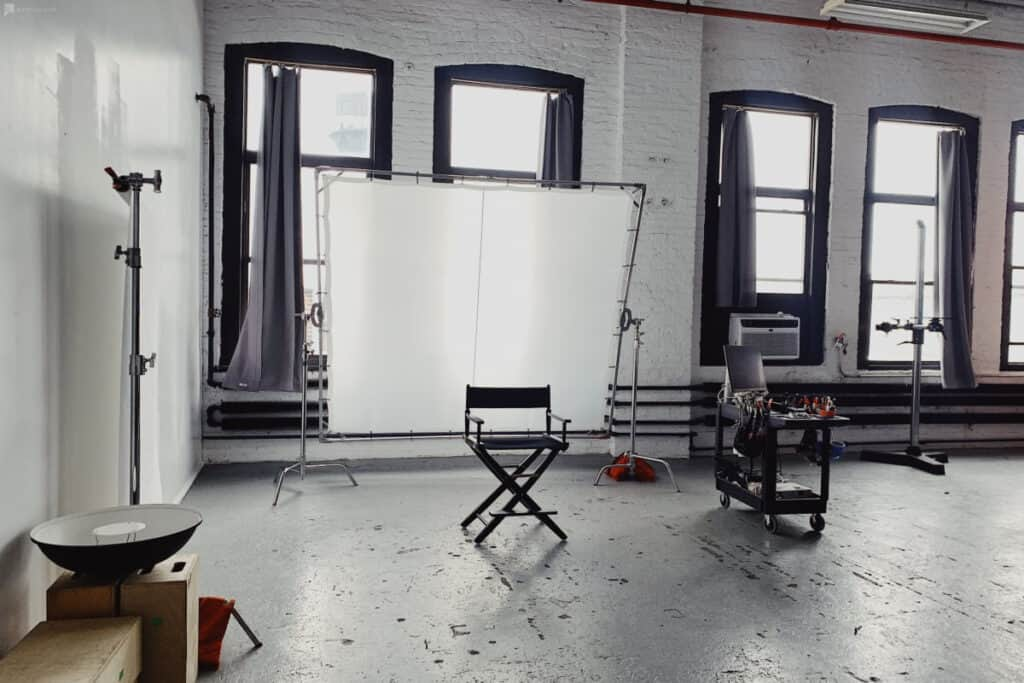 bright pro studio on west side