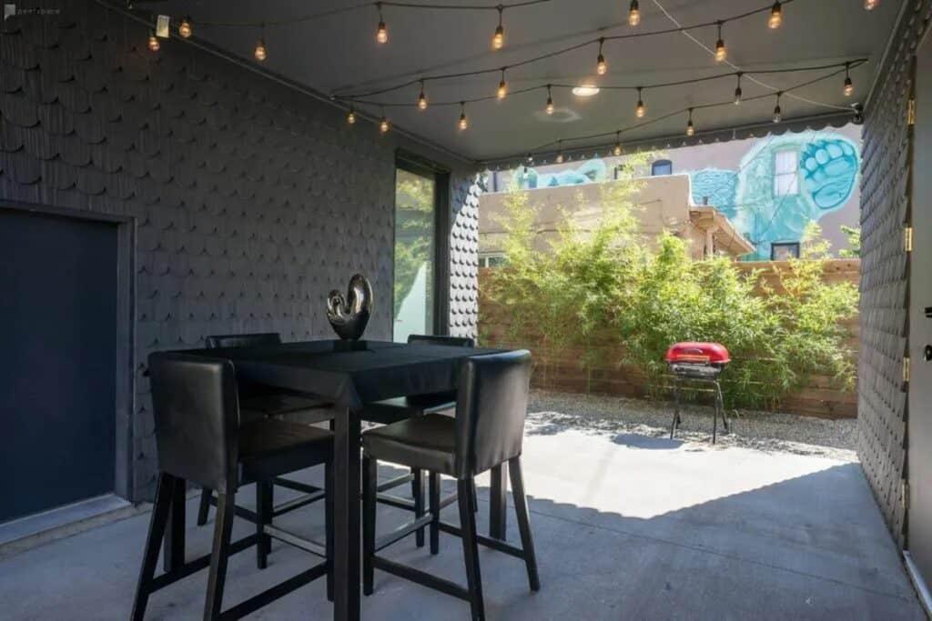 denver home with patio