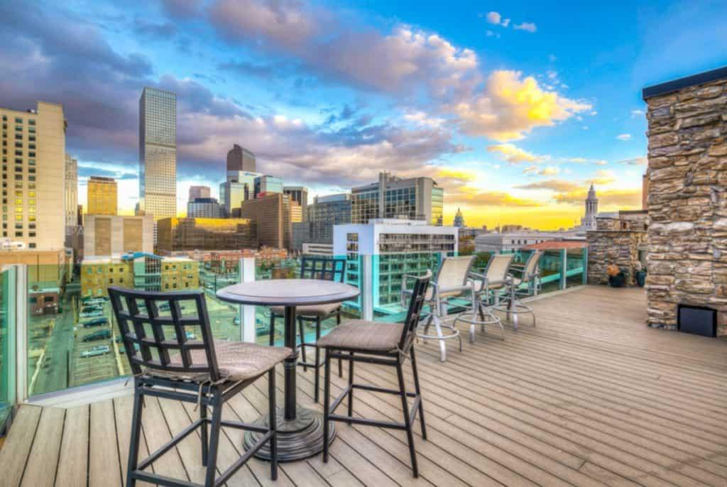downtown rooftop denver rental