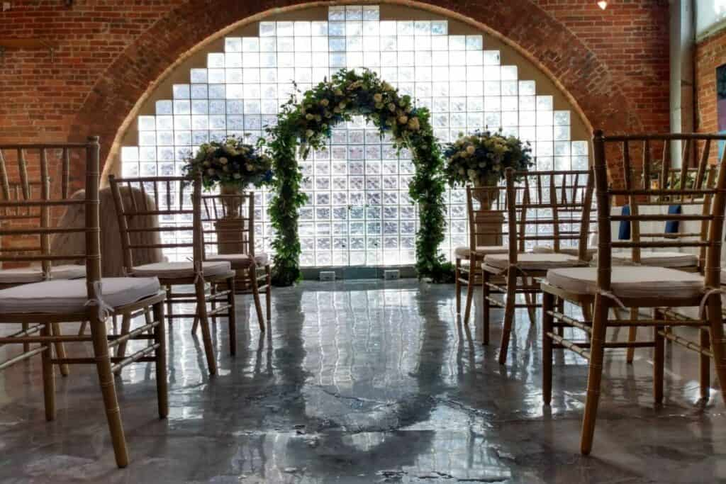 artsy mod houston wedding venue