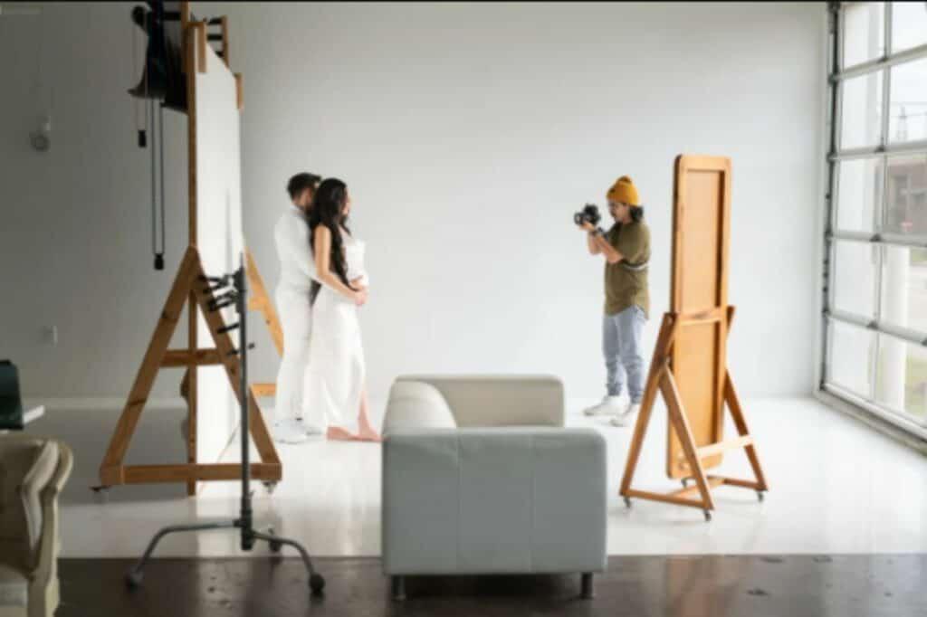 well-lit studio in houston