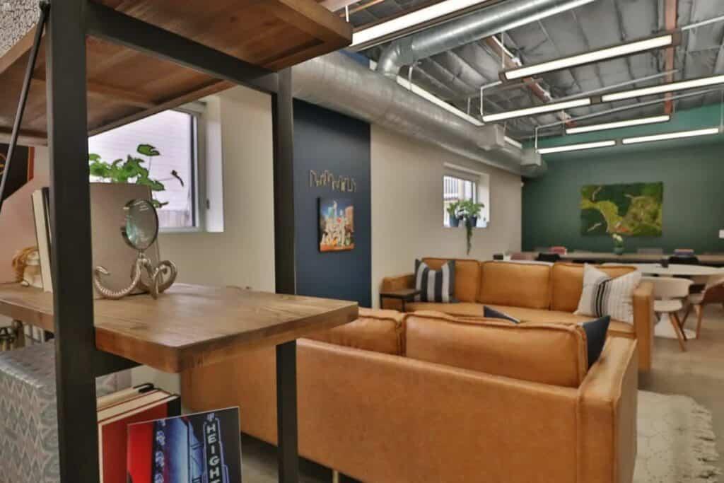 home studio in houston heights