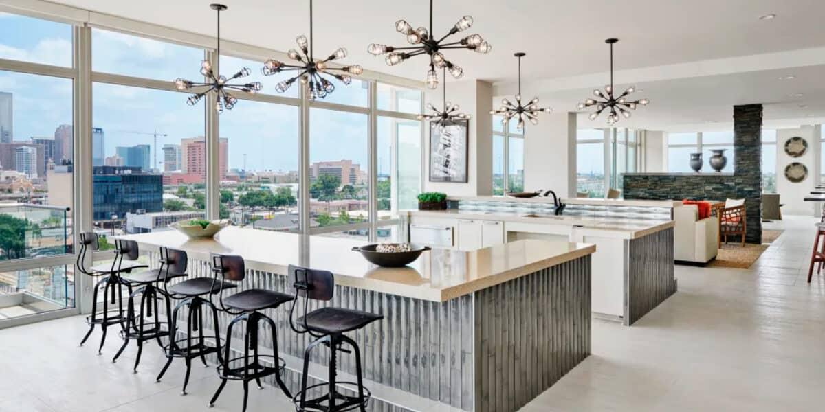 sky lounge luxury penthouse