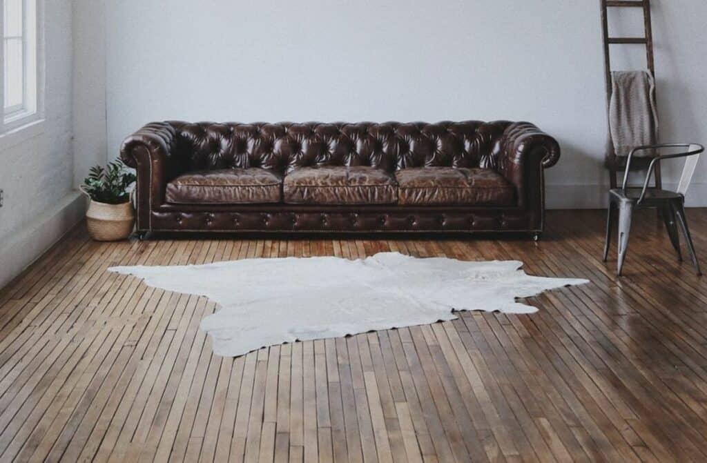 warm, minimalist photo studio in houston heights