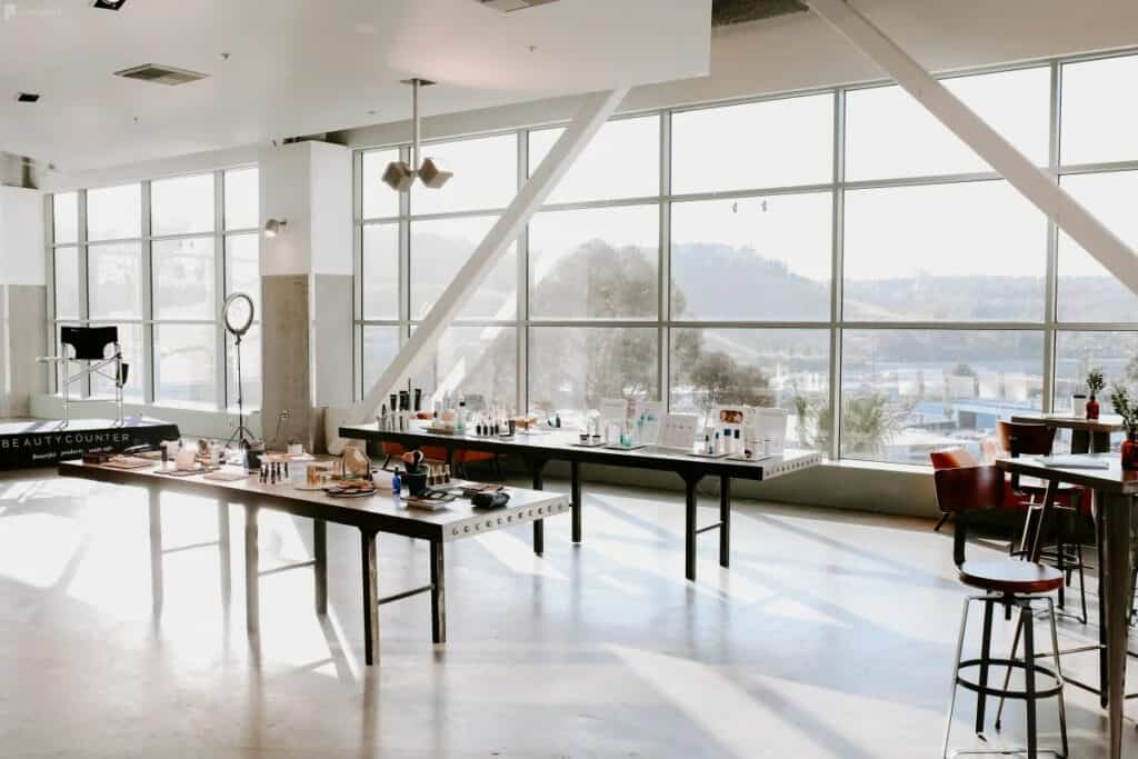 union market event space with spectacular views