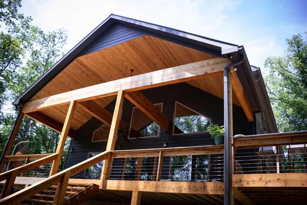 lakefront cabin in the woods on 5 acres nashville rental