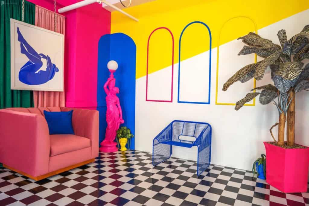 LA retro pop art palace