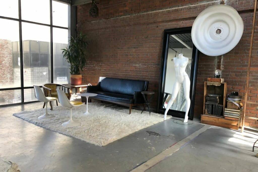 natural light warehouse in LA