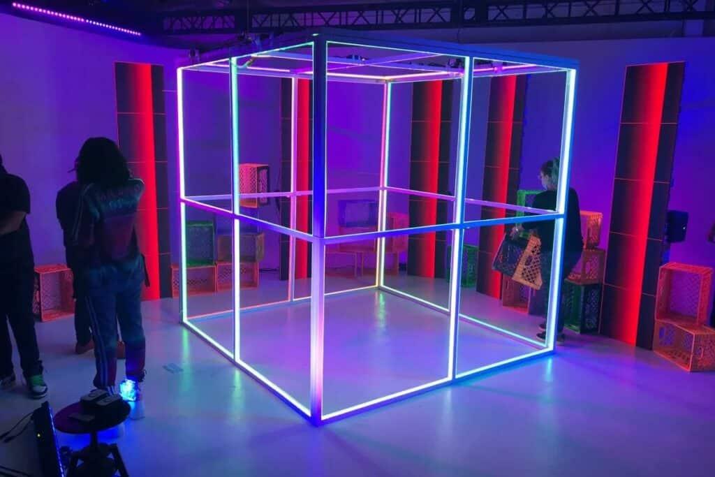 neon studio in LA
