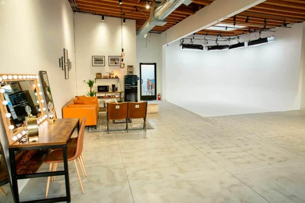 streamlined studio in LA