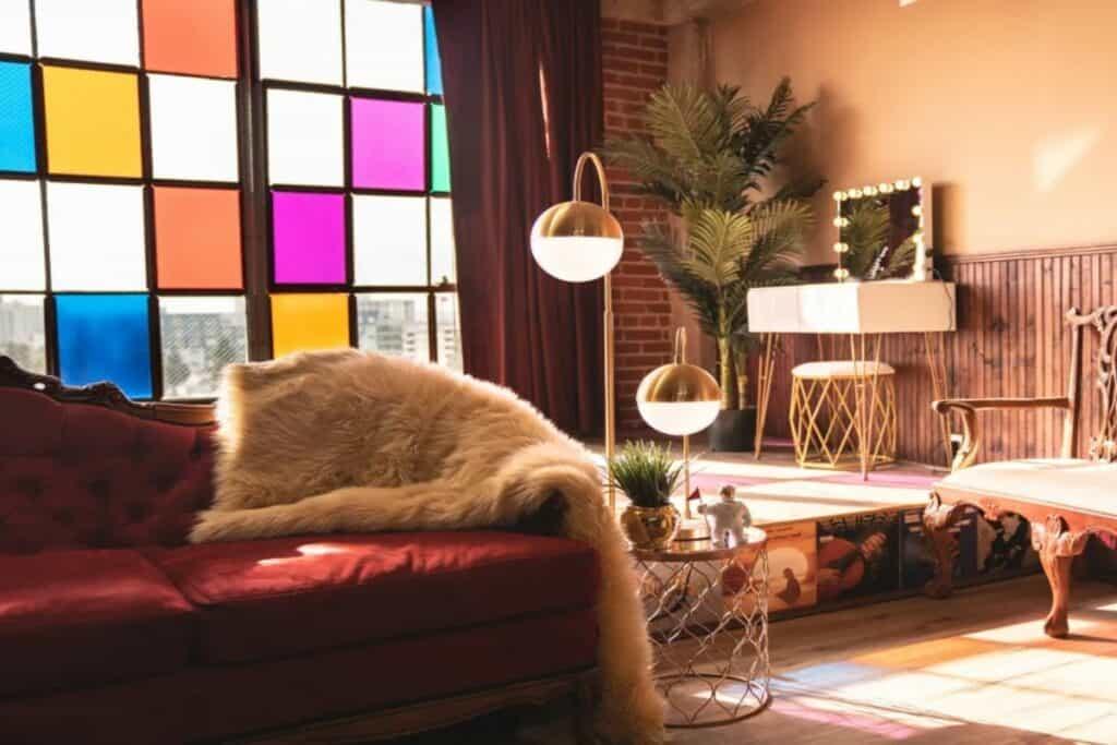 vintage eclectic loft dtla