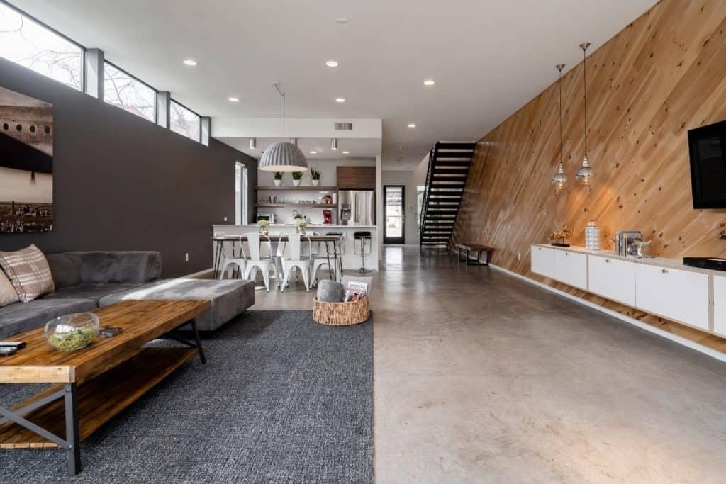 modern elegant house dallas rental