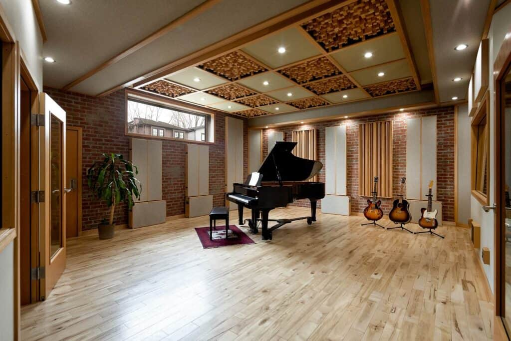 modern music production studio vancouver rental