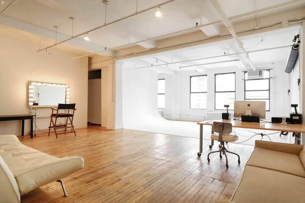 midtown sunlit studio