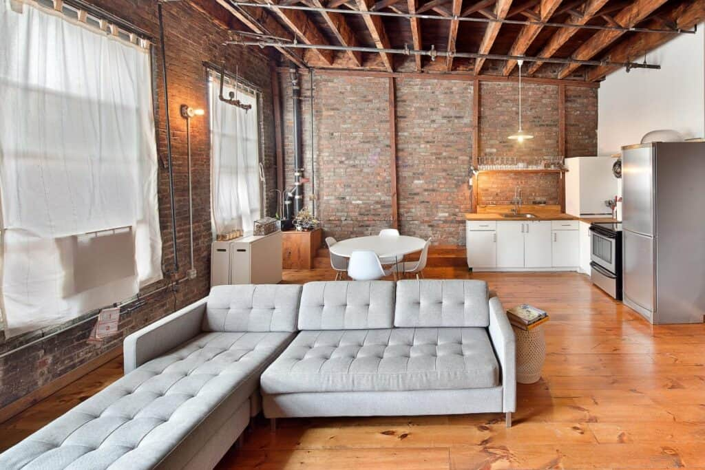bowery loft with sun and seating