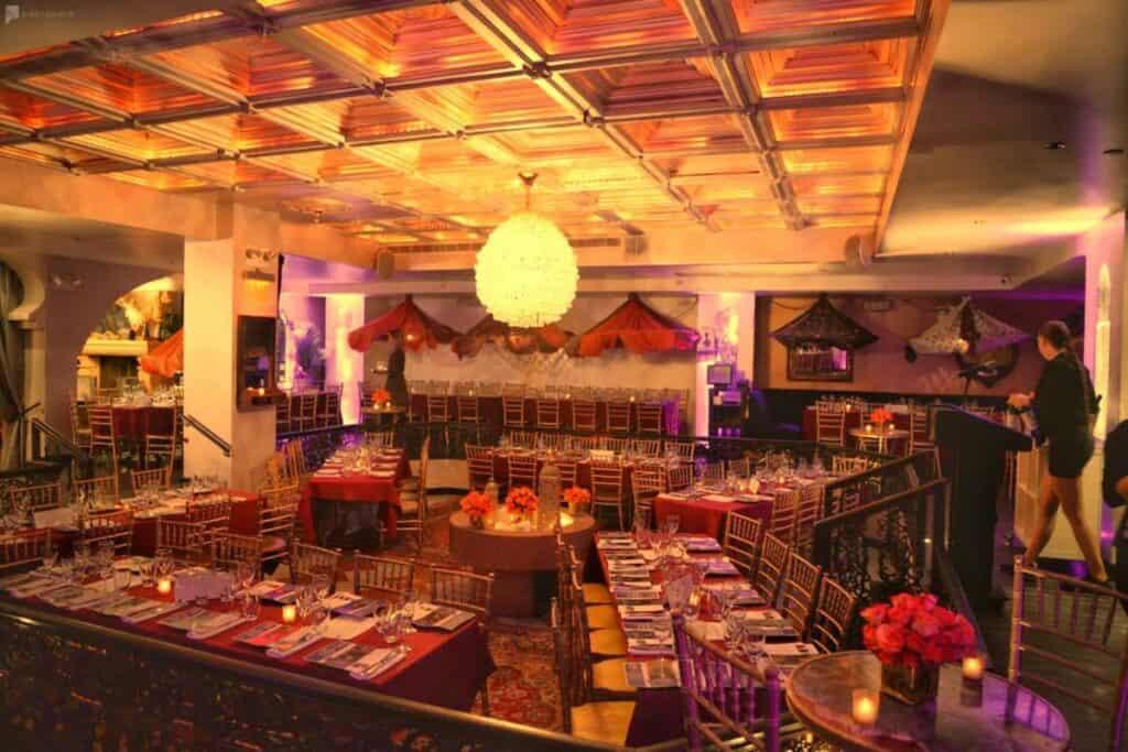 elegant restaurant and lounge in west village
