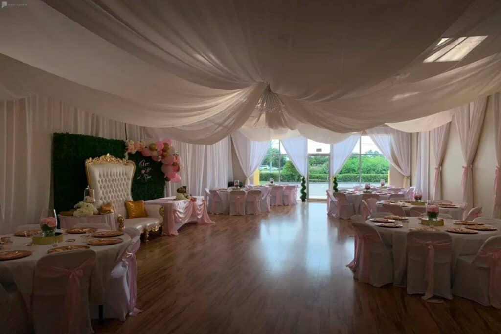 airy, elegant event space in orlando