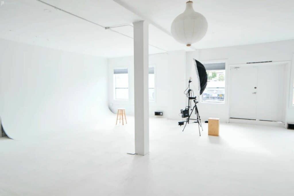 portland studio with cyc wall