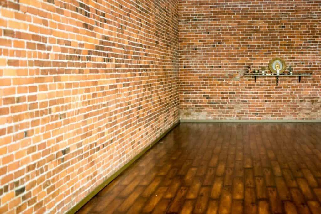 brick and wood daylight studio